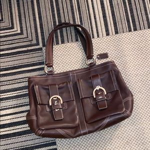 VINTAGE COACH MULTIPLE USE BAG